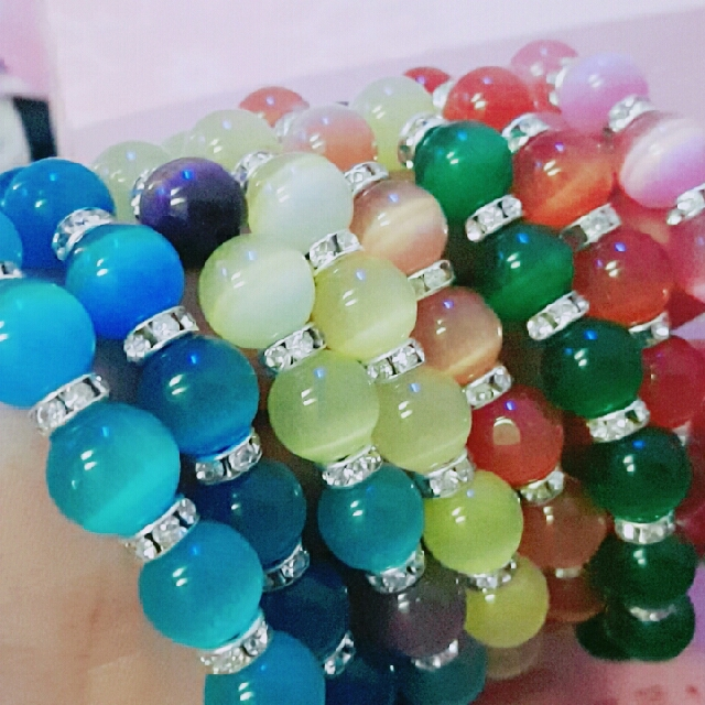 貓眼石設計款 各色 彩色