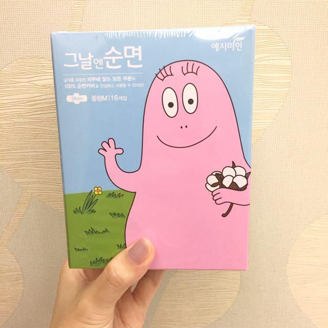 正版 韓國泡泡先生 衛生棉 25cm *16P