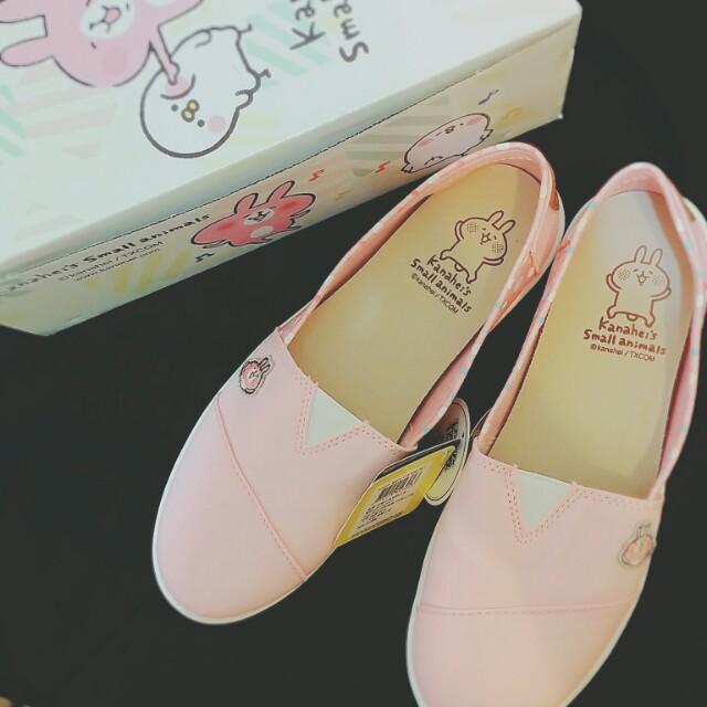 全新 卡娜赫拉 休閒懶人鞋 粉紅