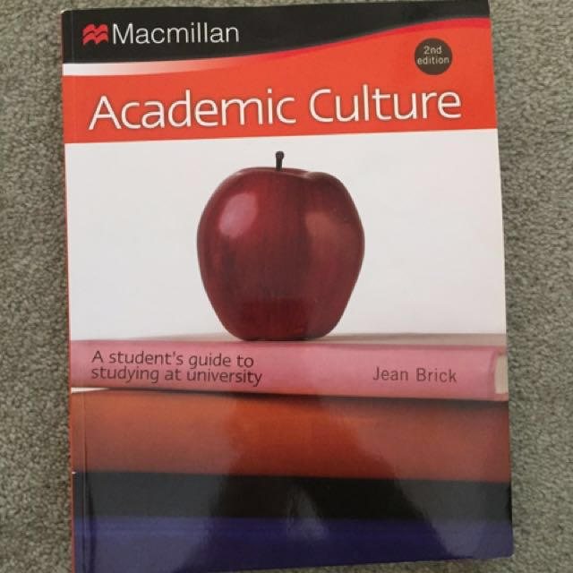 ACADEMIC CULTURES REFERENCING HELP TEXT BOOK 🆕