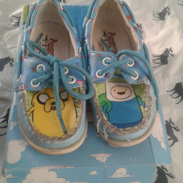 Adventure time shoes☺