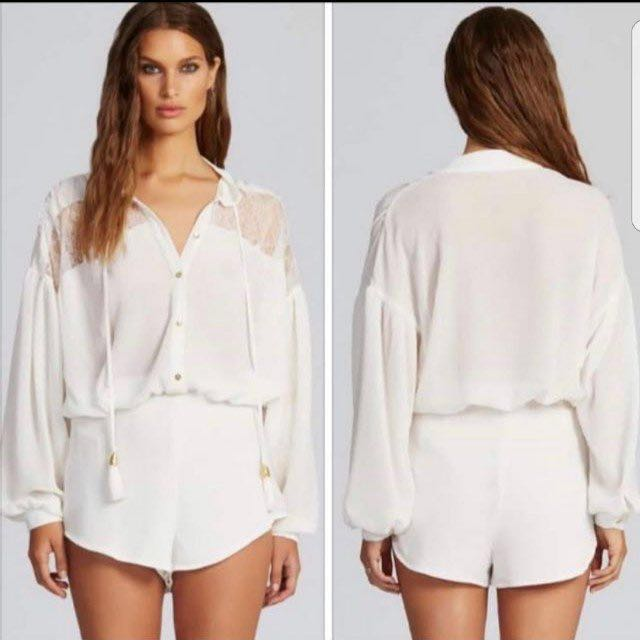0eefc46f37 Alice McCall State of Grace Playsuit