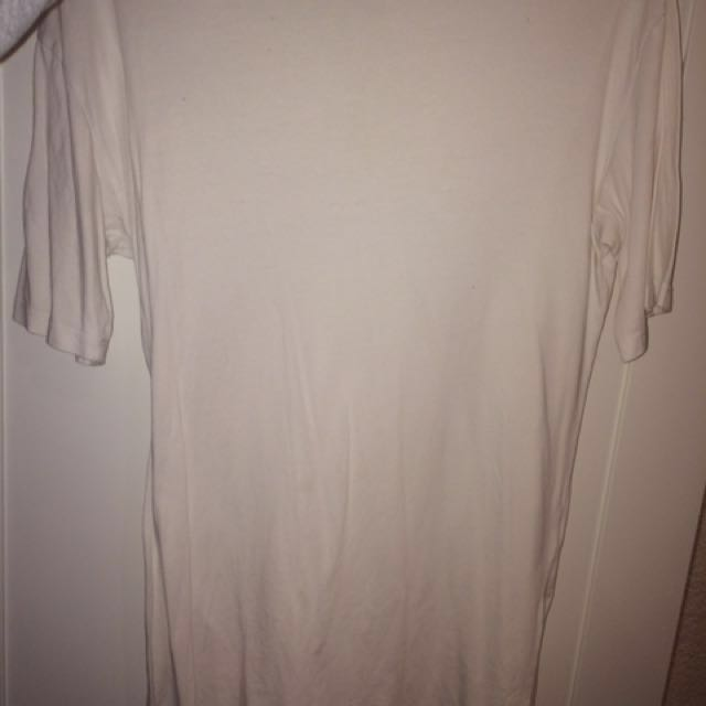 All About Eve Woman's White Tshirt Dress