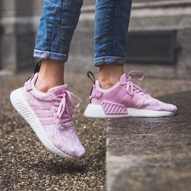 0a302f36330f8c ALL sizes  New Adidas NMD R2 Wonder Pink