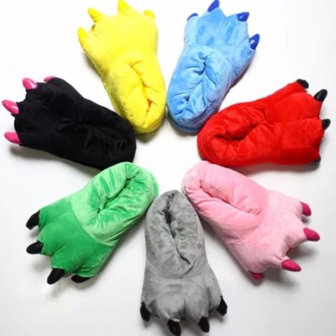 Animal Footwear for Adult Onesies