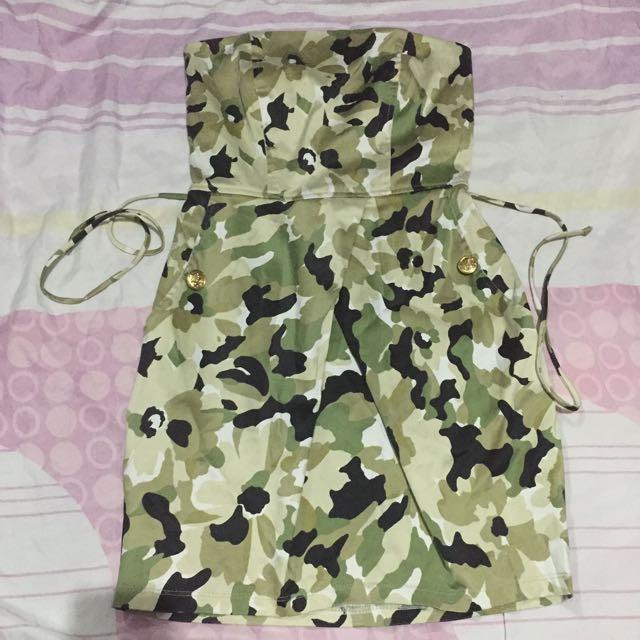 Army Tube Dress