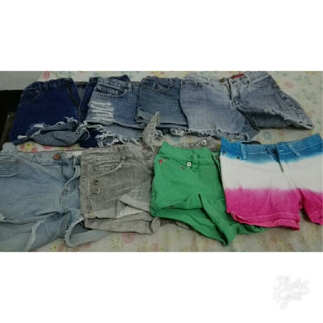 Assorted Shorts (SOLD AS BUNDLE)