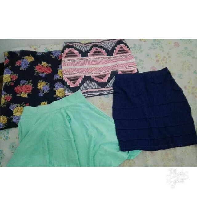 ASSORTED SKIRTS (SOLD AS BUNDLE)