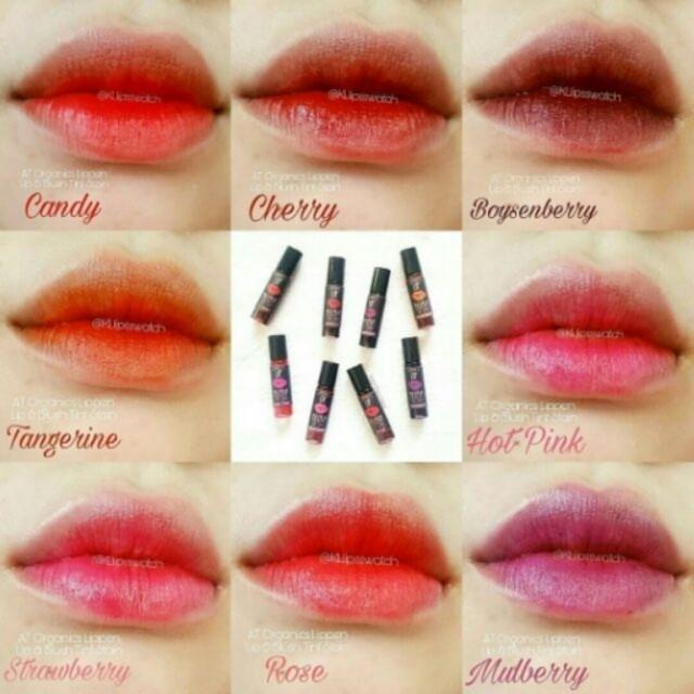 A.T. Organics Lippen