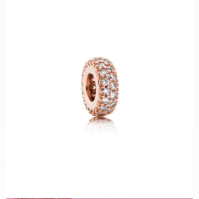 AUTH PANDORA ROSE INSPIRATION SPACER