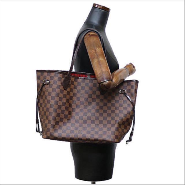 Authentic Louis Vuitton Neverfull MM Damier Ebene 84ef34a856a23