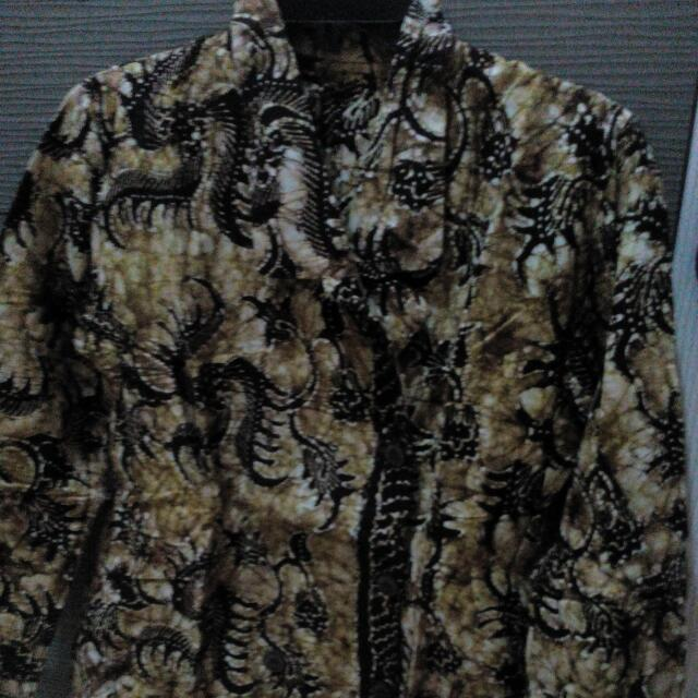 Batik Tulis Tuban Blazer Blouse Big Sz