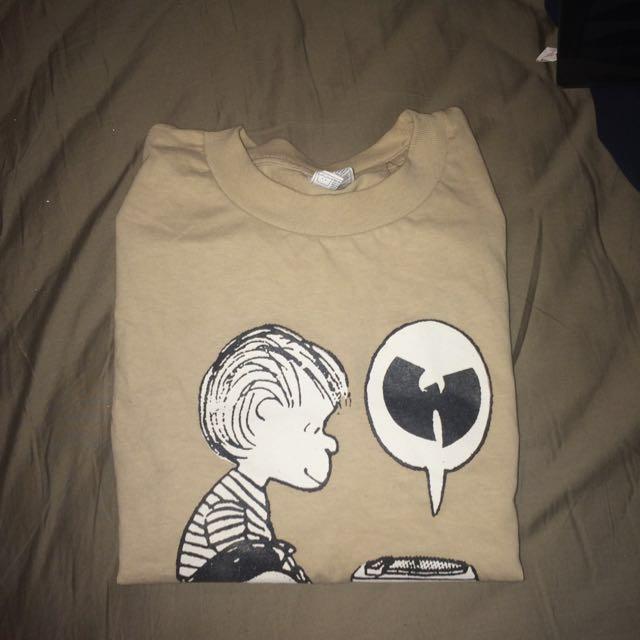 Beige Wu tang Shirt