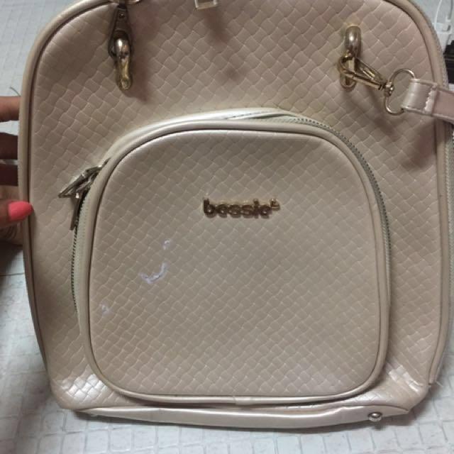 Bessie 2 way bag (gold)