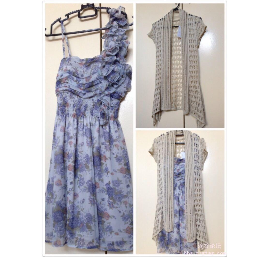🎉Blue Floral Dress