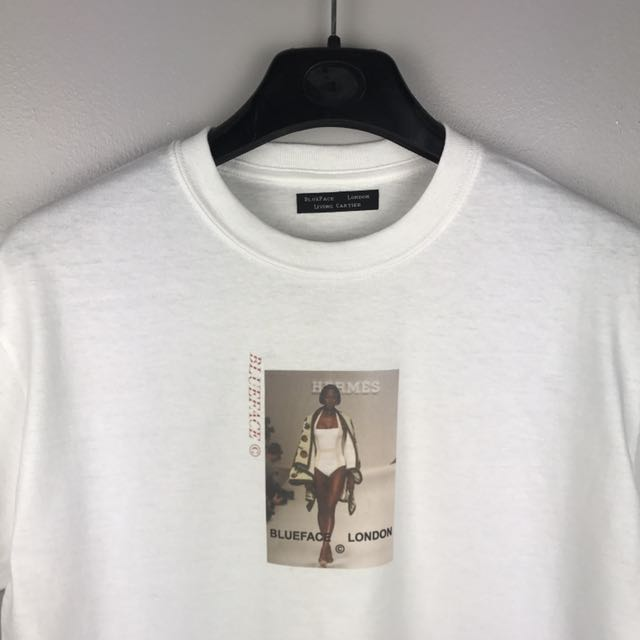 BlueFace London White T-Shirt