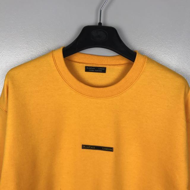 BlueFace London Yellow Sweatshirt