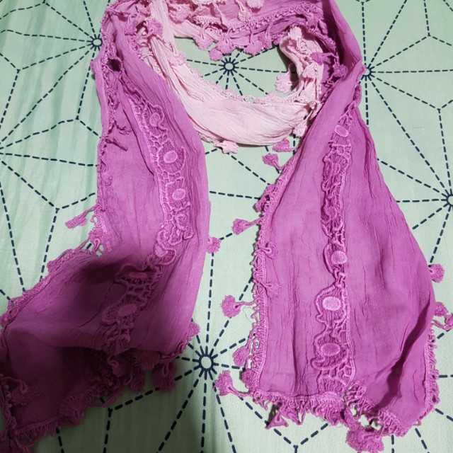 BNWT Ombre Lacey Scarf