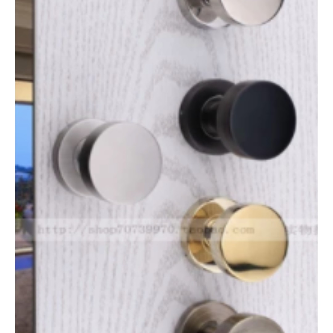 photo photo ... & BRAND NEW GOLD NORDIC STYLE DOOR KNOBS Furniture Others on Carousell