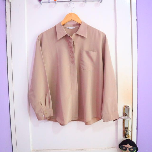 Brown Long Shirt