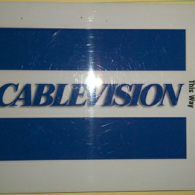 Cablevision Card for Optimum TV cable box