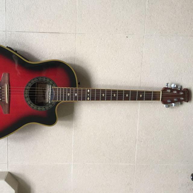 Cadenza Semi Acoustic Guitar ( price lowered!), Music
