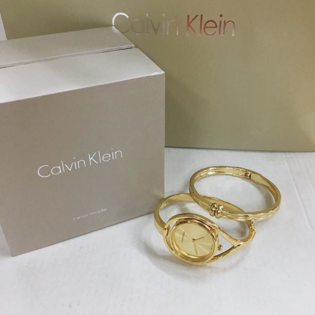 Calvin Klein Set Watch and Bangle