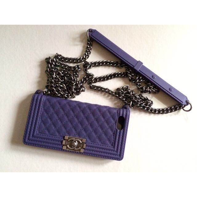 Chanel Boy Case for Iphone 5/5s