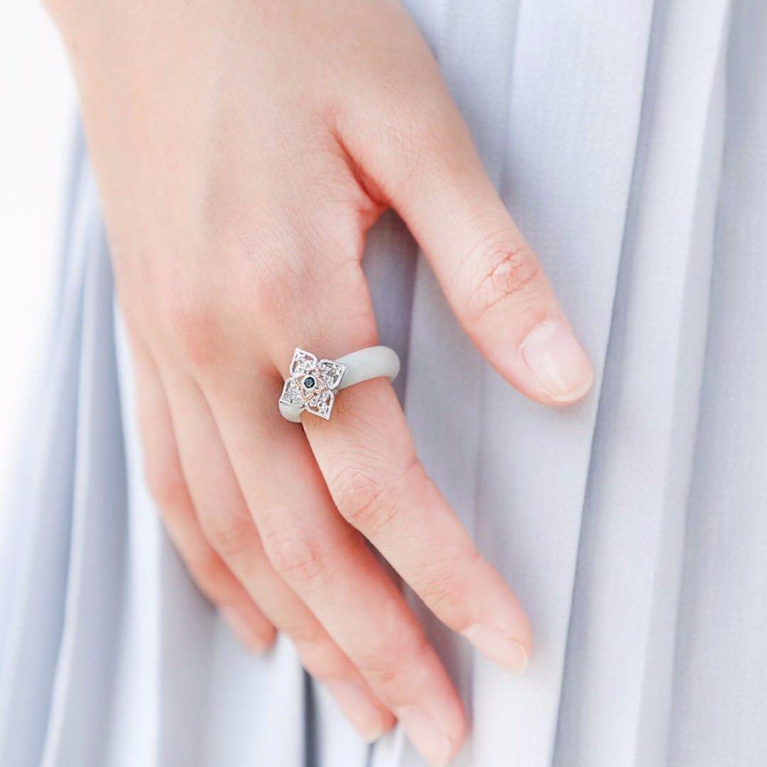 choo yilin PERANAKAN LACE RING, Women\'s Fashion, Jewellery on Carousell