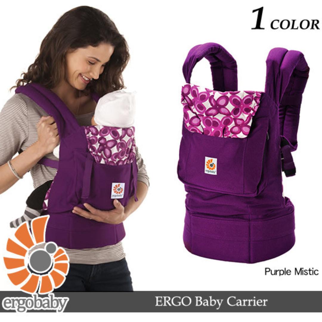 b2490b70e4b Factory Direct Pre Order Listing - Ergobaby Original Organic Cotton Baby  Carrier Sling - Purple Mystic