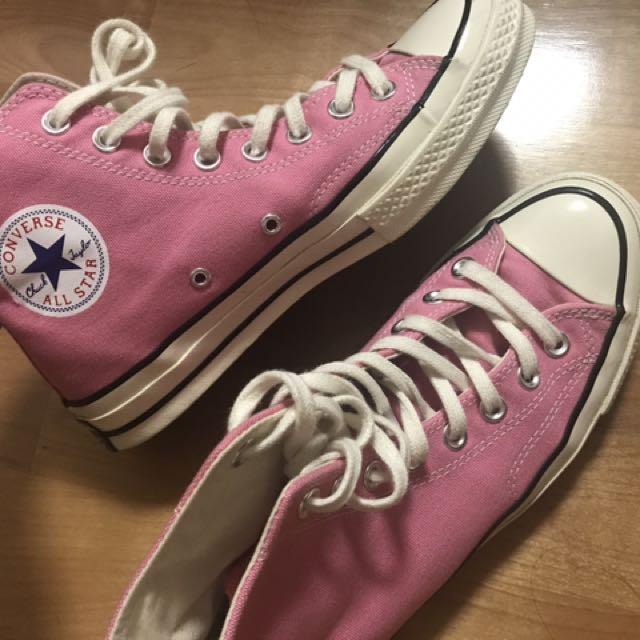 Converse 1970s 粉色高筒