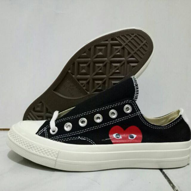 CONVERSE CDG BLACK LOW SIZE 37