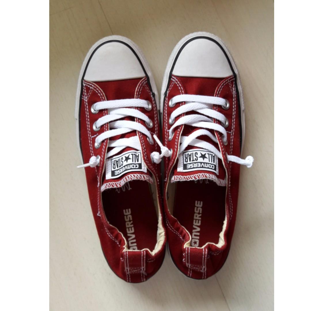 1871289283b2 Converse Red Chuck Taylor All Star - Shoreline Slip