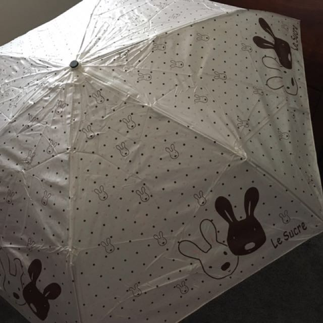 Cute Rabbit Patterned Umbrella