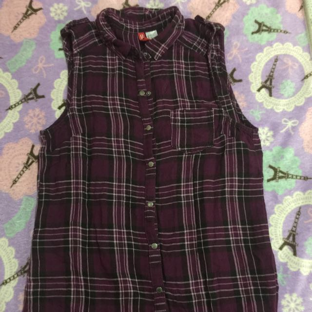Divided by h&m (japan) polo sleeveless