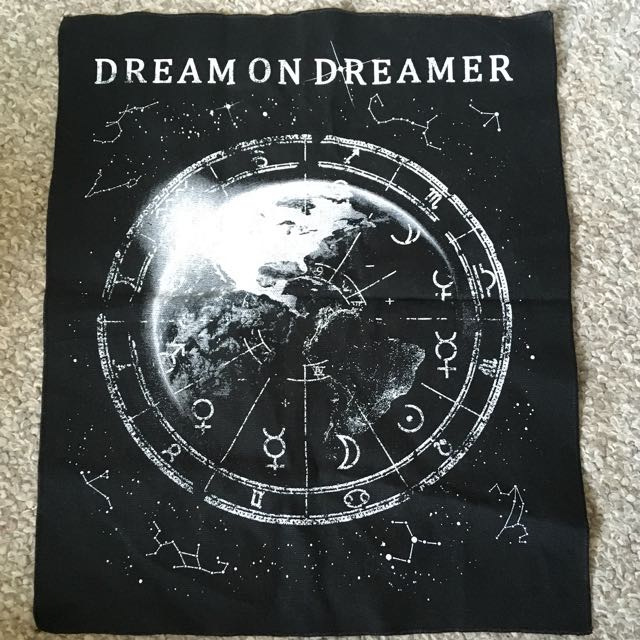 dream on dreamer band merch patch 24hundred