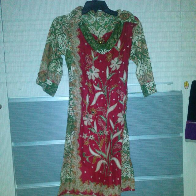 Dress/tunik Batik Cantik All Sz#awaltahun