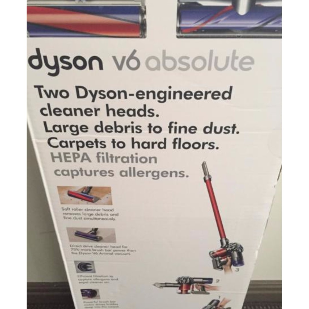Dyson v6 Absolute Vacuum Cleaner for sale $480 (New)