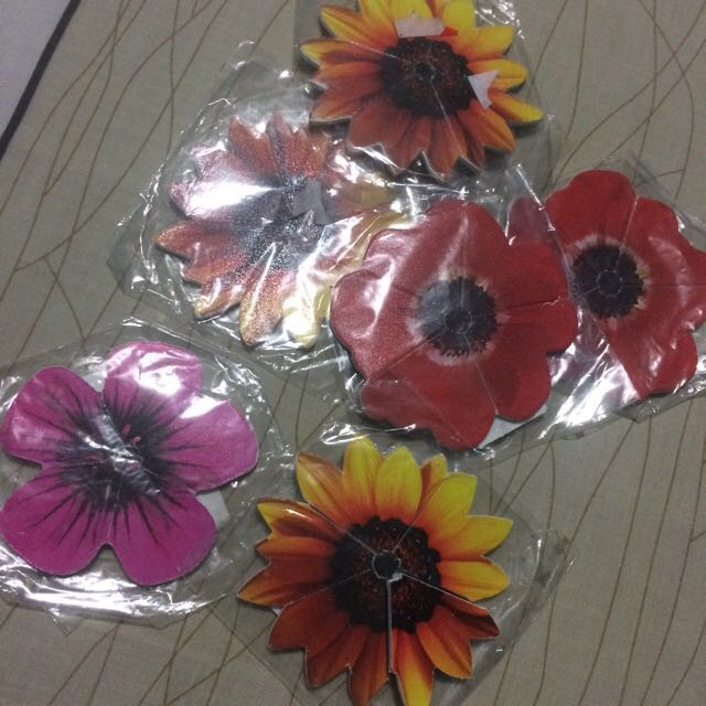 Flower Pull Off Nail Files