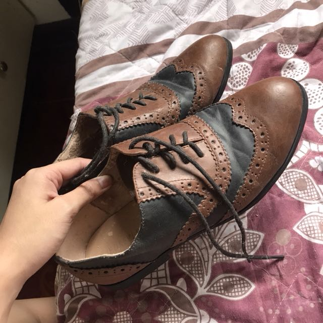 Forever 21 Brown Brogues Size 9