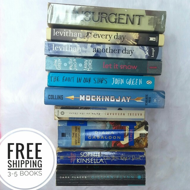 Free shipping for 3 or more books