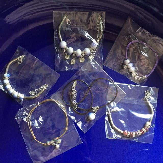 Free Shipping Handmade Bracelets/Anklets/Necklace $4 each