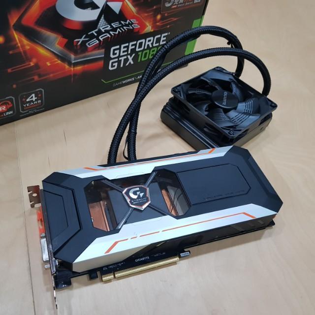 Gigabyte - Geforce GTX 1080 8GB (water-cooling)