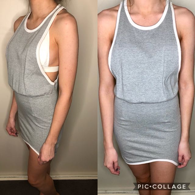 Grey Designer Dress