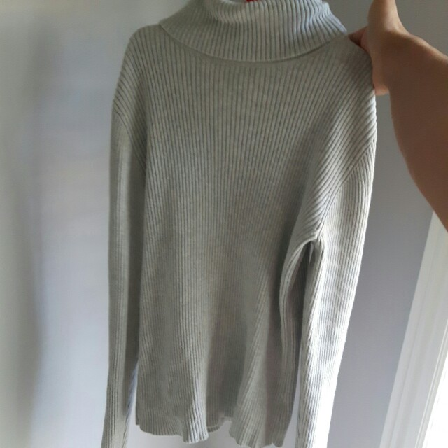 Grey turtle neck (vintage)