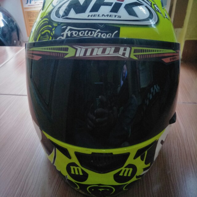 Helm nhk gp tech race