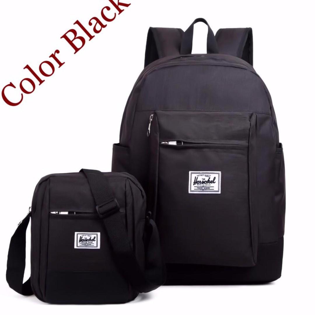 Herschel Backpack and Sling Bag