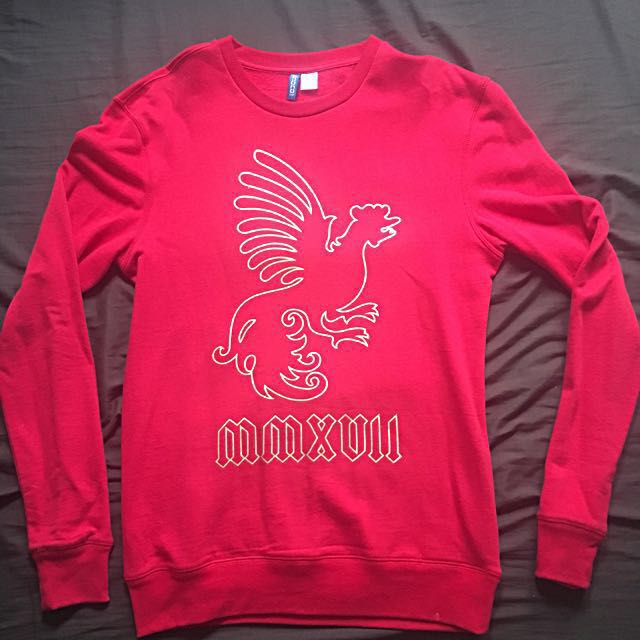 H&M Red Pullover/Sweatshirt (Year of the Rooster)