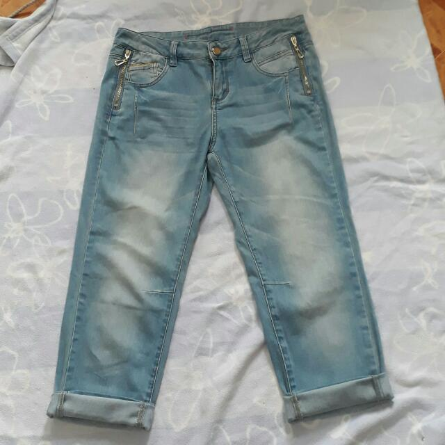 Hopeshow Lowaist Boyfriend Jeans (PLS..PLS.. READ DESCRIPTION FOR INFO)