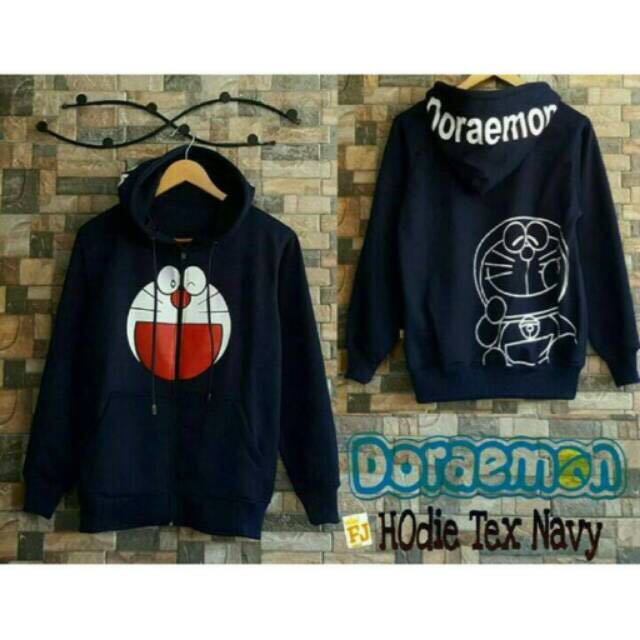 Jaket Hoodie Doraemon